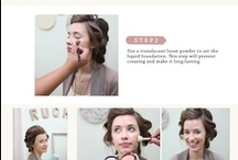 Hair and Makeup / Creative hair and makeup ideas, tutorials