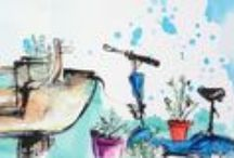 Watercolors - Draws / Dessins
