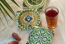 Moroccan Home / Beautiful furniture and home accessories inspired by Moroccan styles and colours.