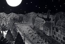 black and white illustration / by Alesandra Forte