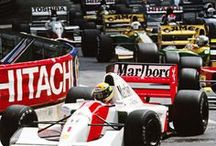 Motor sports / Mostly F1 driving and drivers. Very especially Ayrton Senna and Finns.