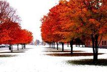 Winter in October!