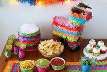 Fiesta De Mayo / Chic party ideas for a Cinco de Mayo party! :)