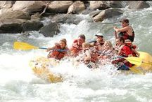Fun on the Animas River: White Water Rafting, Kayaking, Paddleboarding / Whatever you want to do on the water, we've got you covered. With multiple rafting companies in town you can go on a tour trip or rent equipment (like paddle boards) and explore the river yourself  Renowned as an outstanding fishery, the Animas River provides prime habitat for Brown and Rainbow Trout. The entire length of the river through Durango is accessible for fishing including a 2-mile stretch of Gold Medal Water fishing just south of downtown.