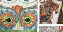Adult Coloring Books / The Best Adult Coloring Books and Adult Coloring pages to relax and enjoy. Use colored pencils, markers, crayons to color in your adult coloring books. What's new and trending in coloring books and supplies.