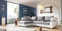 Wohnlandschaften / Gemütlichkeit, Stil und ein tolles Ambiente machen ein Wohnzimmer perfekt.