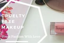 Cruelty Free Make-up / FFWL / Cruelty Free Make-up, being kind to animals and keeping yourself looking gorg.