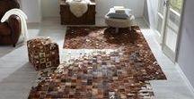 Teppiche & Böden / Holz und flauschige Teppiche sorgen für mehr Ambiente in eurem Zuhause!