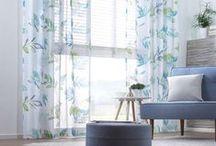 Vorhänge / Bring mehr Farbe in dein Zuhause!