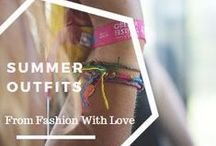 Girly Summer Outfits / Feminine outfits to keep you look great even under the heat.