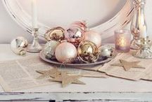 Christmas / It's the most wonderful time of the year!  Romantic and vintage style Christmas decor inspiration