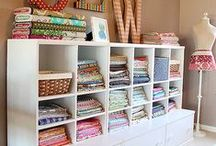 Quilt Display and Organization / Great finds and ideas to display your quilts or organize your fabric and quilting supplies. / by Fons & Porter's Love of Quilting