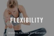Flexibility, Stretching and Meditation / The benefit of including some stretching into your at-home workout regimes is that you get to focus on the areas you personally need to work on. eFIT 30 has a range of different releases, stretches and meditations to help you improve your range of movement and quiet your mind as needed.