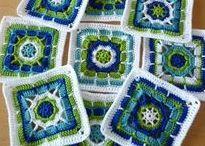Granny Squares / Granny's for my sample...