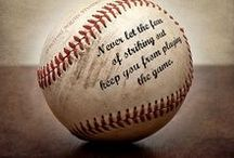 Baseball / I'm a baseball mom and proud of it. I spend countless hours at the field, heal hurts, encourage and cheer for mine and other's. I know more about this sport ...