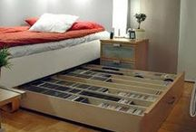 Storage & Organization! / Organization and built-in storage ideas for my dream home. / by April Rix