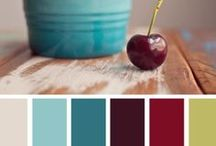 Inspiring Color Combos / I love the way colors go together, there are so many combinations... Color palettes inspire me to create things! / by Nicte Hunt