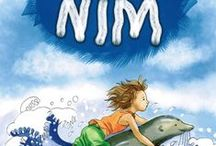 Nim's Island Book Covers / Covers of the different editions of the book Nim's Island from around the world
