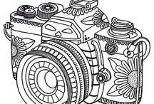 coloring pages/Hand Embroidery/clip art / by Nicte Hunt