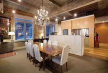 Architecture - lofts / Inspiring design in loft apartments / by Kerri P