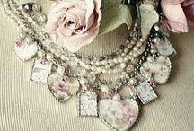 Bling / Romantic, ultra feminine, accessories that sparkle