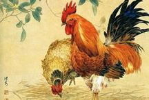 Chickens | Art & Home Decor  / by ✿⊱ ℳy Ƭнƴmℇ ⊰✿