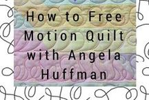 Free-Motion & Longarm Machine Quilting / Whether you're wondering how to free motion quilt, quilt with stencils, or work edge-to-edge designs, you'll find it all here. The quilting industry's top instructors show you everything you need to know about machine quilting designs, which also works for quilting by hand. We have blogs packed with quilting information for learning where to start when quilting a quilt, building your quilting muscle memory and offering great techniques and tips!