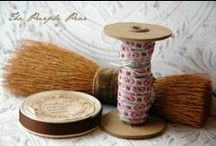 Antique Embellishments / Lovely bits of lace and trim and creative ideas for putting them to good use. / by Girl in Pink