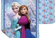 Disney's Frozen / Children everywhere are in love with Disney's Frozen, the animated musical film that tells the story of a fearless princess, Anna, searching for her sister, Elsa. Delight the Frozen fans in your life with our exclusive Sisterly Love quilt or no-sew fleece blankets, featuring Elsa and Anna, Olaf or a tossed medley of all characters. Kits will be available soon, with plenty of time to make them for holiday gifts. / by Fons & Porter's Love of Quilting