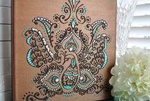 Henna Mehndi Canvas
