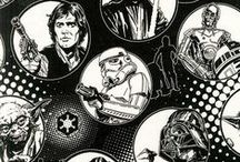 Star Wars Quilt Projects & Fabric / Check out some great ideas for incorporating characters and graphics from STAR WARS™: The Force Awakens into your quilting projects. May the Star Wars quilt kits, quilted throw pillows, etc. be with you! / by Fons & Porter's Love of Quilting
