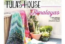 "Tula Pink - Tula's House / Tula Pink is what Keepsake Quilting calls, ""an original…illustrator, quilter, author and patron saint of DIYers."" Tula Pink has plenty of traditional-inspired quilting projects with a fresh color palette. If you like modern quilting, she has plenty to choose from there, as well. Really, there's something for every kind of quilter. Tula's quilting projects are pretty exciting! / by Fons & Porter's Love of Quilting"