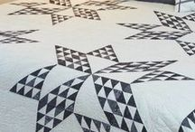 Two-Color Quilts / Two-color quilts really make a statement, never go out of style, and are sought after by quilt collectors. They're also versatile, often contenders for stash-buster projects.