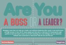 Leadership / Managers are not always Leaders. Here are ideas, thoughts and quotes related to being a leader in your personal and professional life.