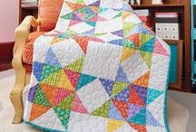 Bed-Sized Quilt Patterns / Bed-sized quilts are a favorite among quilters, and for that reason, are quite popular! Lap quilts and throw-quilt patterns are nice for keeping warm on the couch, but there's something about bed-sized quilts that are perfect for snuggling.  / by Fons & Porter's Love of Quilting