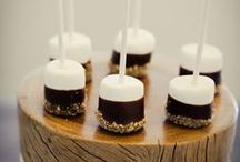 Food | Bite-Sized Eats / Canapes and tiny morsels for parties, weddings and entertainment