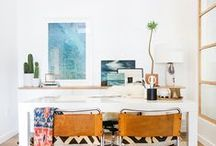 Perfect office / Inspiration for our home office and studio
