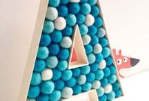 monogram / Monogrammed home decor, letters, stenciling and paint projects.