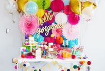 par-tay / All types of Party Settings and Ideas, DIY Party, weddings, pretty tablescapes, etc.