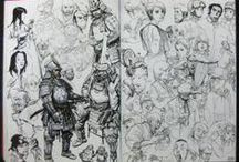 Sketches - Bocetos y Conceptos / Sketches!