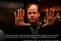 When Joss Whedon calls... You just say yes. / by Foxy Kazoo