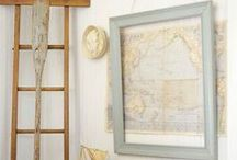 Map Crafts / Maps crafts, tutorials, and simple love! home decor / by Made in a Day