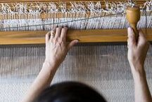 Weaving / beautifully intertwined fibres, yarns & weavings. / by Emilie Ristevski