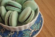 ♡ macarons ♡ / for their class, beauty and utterly parisian attitude