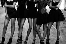 BLACK AND BLING HEN PARTY / Black and bling is a glamorous and chic hen party theme. The perfect hen do idea for the sophisticated bride to be. Always cool and classy. Also works great for a bridal shower, bachelorette and hens night