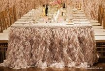 Decor | Linens / Simple, ornate, patterned or sparkly linens