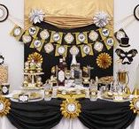 new years eve / New years eve party ideas, printables, gold, sparkle,