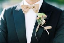 Florals | Boutonnieres / Pretty bouts for the ushers and Groom