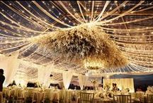 Florals | Installations / Amazing hanging, sculptured and artistic florals