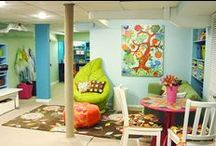 Cute * Playroom * Ideas / by Ashley Krager